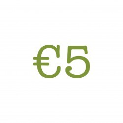 €5 Lunch tegoed