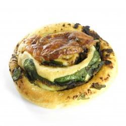 Bram's Ricotta-spinazie Broodje
